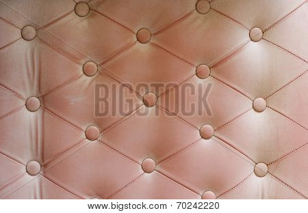 Vintage Sofa Leather Background