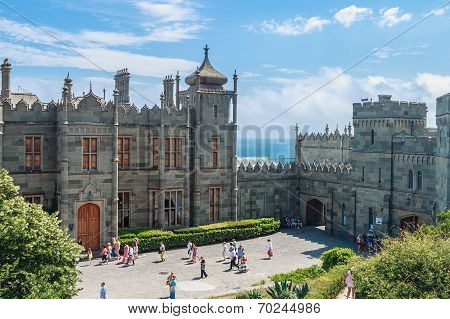Count Vorontsov Palace In Alupka