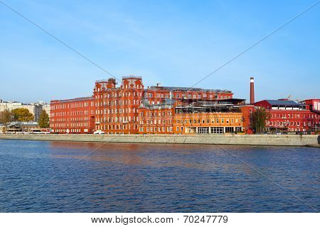 Former Confectionery Factory Building - Moscow Russia