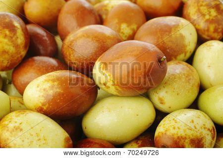 Chinese Jujubes Fruits