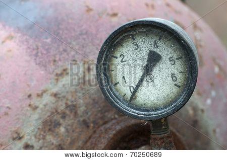 Industrial Pressure Meter - Barometer