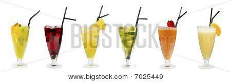Three Fresh Cocktails