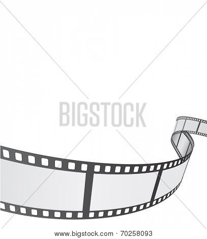 film reel background design