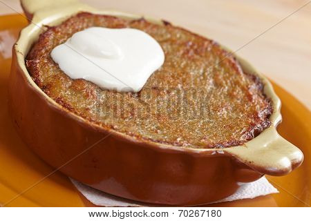 roasted potatoes (belorussian food)