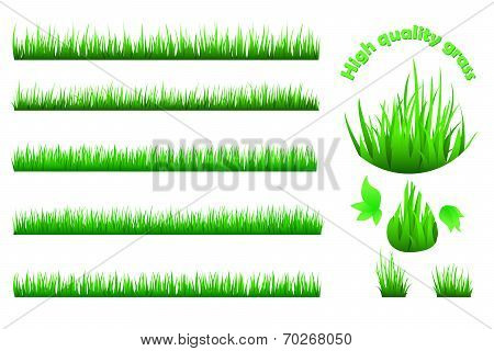 High quality grass set