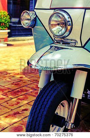 Thai Style Tricycle (tuk Tuk) In Thailand