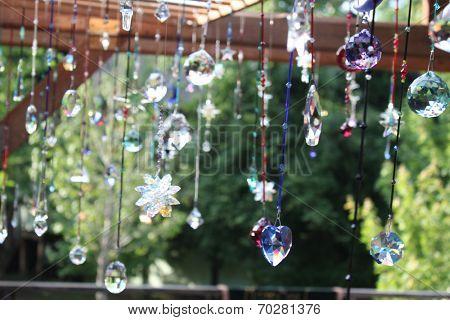 Beautiful garden decoration