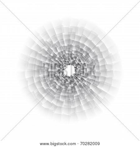 Vector nano texture black