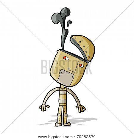 caroton malfunction robot
