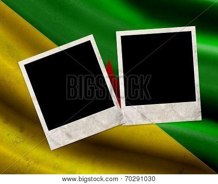 Grunge French Guiana Flag