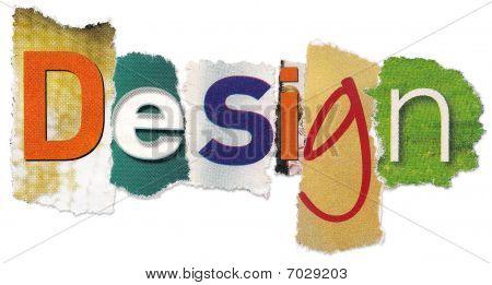 eines Word Designs der Zeitung letlers
