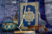 picture of quran  - The Quran is the bible for Muslims - JPG
