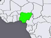 image of nigeria  - Map of worlds - JPG