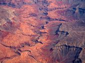 picture of paleozoic  - Aerial view of Grand Canyon National Park in Arizona - JPG