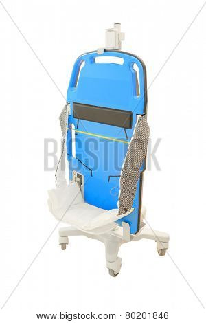 devices for cardiopulmonary resuscitation isolated under the white background