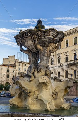 Fountain Of The Tritons, Rome