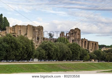 Ruins Of The Domus Augustana, Rome