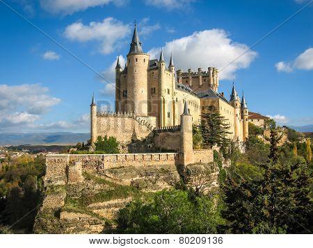 Castle-ship, Alcazar, Segovia, Spain