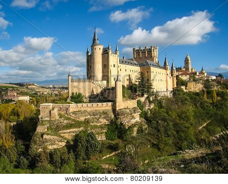 Castle-ship, Alcazar, Segovia, Spain