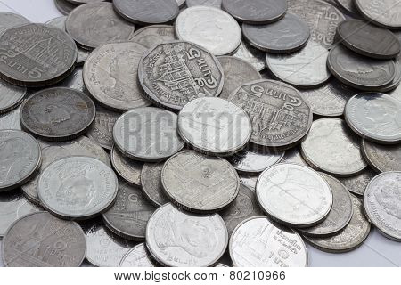 Thai Bath Coins