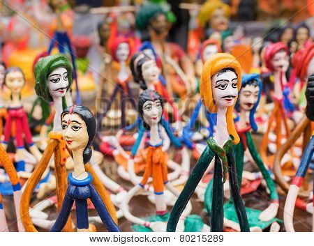 Terracotta Dolls, Indian Handicrafts Fair At Kolkata