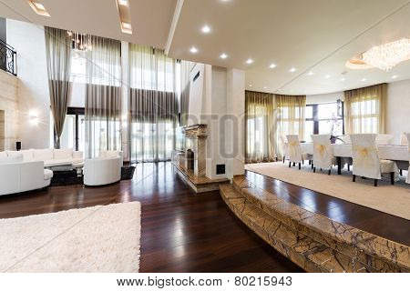 Elegant and comfortable home interior
