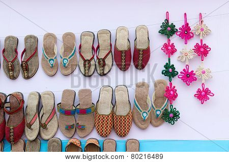 Handmade Jute Shoes , Indian Handicrafts Fair