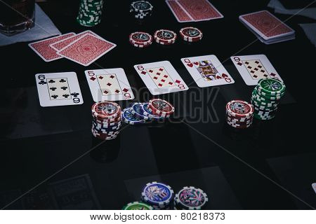 poker game combination