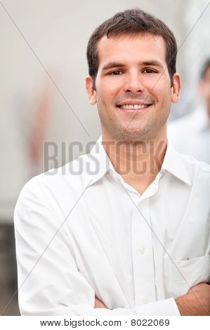 Business Man Smiling