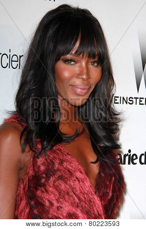 LOS ANGELES - JAN 11:  Naomi Campbell at the The Weinstein Company / Netflix Golden Globes After Party at a Beverly Hilton Adjacent on January 11, 2015 in Beverly Hills, CA