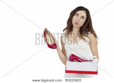 Woman Disappointed About Her Gift
