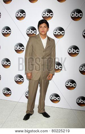 LOS ANGELES - JAN 14:  Johnny Ortiz at the ABC TCA Winter 2015 at a The Langham Huntington Hotel on January 14, 2015 in Pasadena, CA