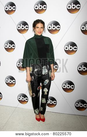 LOS ANGELES - JAN 14:  Karla Souza at the ABC TCA Winter 2015 at a The Langham Huntington Hotel on January 14, 2015 in Pasadena, CA