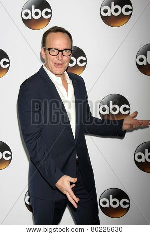 LOS ANGELES - JAN 14:  Clark Gregg at the ABC TCA Winter 2015 at a The Langham Huntington Hotel on January 14, 2015 in Pasadena, CA