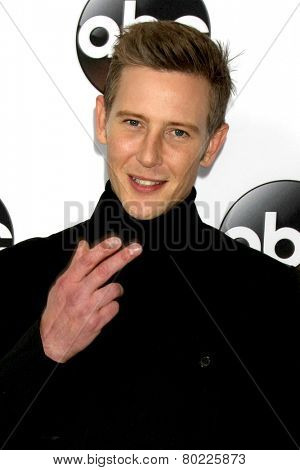 LOS ANGELES - JAN 14:  Gabriel Mann at the ABC TCA Winter 2015 at a The Langham Huntington Hotel on January 14, 2015 in Pasadena, CA