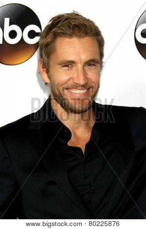 LOS ANGELES - JAN 14:  Brett Tucker at the ABC TCA Winter 2015 at a The Langham Huntington Hotel on January 14, 2015 in Pasadena, CA
