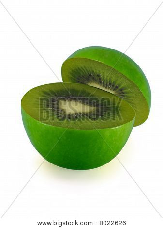 The Transformation Of Apple In Kiwifruit