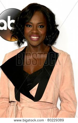 LOS ANGELES - JAN 14:  Viola Davis at the ABC TCA Winter 2015 at a The Langham Huntington Hotel on January 14, 2015 in Pasadena, CA