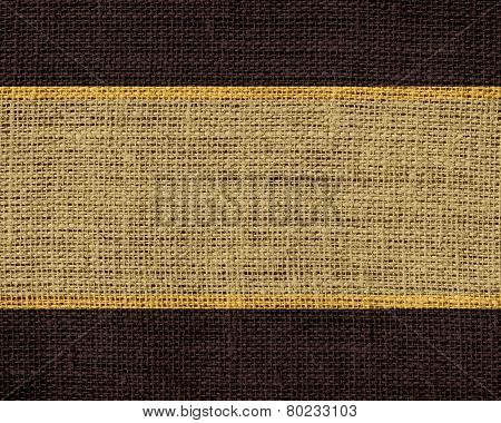 desert and brown burlap jute fabric textured background