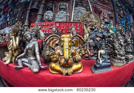 Ganesh In Souvenir Shop