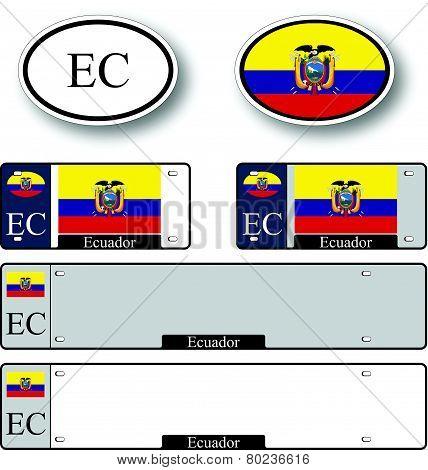 Ecuador Auto Set