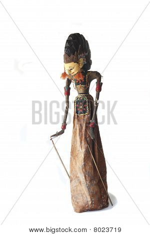 Asian Wajang Golek Puppet