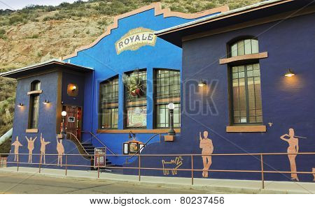 A Bisbee Royale Theatre Shot, Bisbee, Arizona