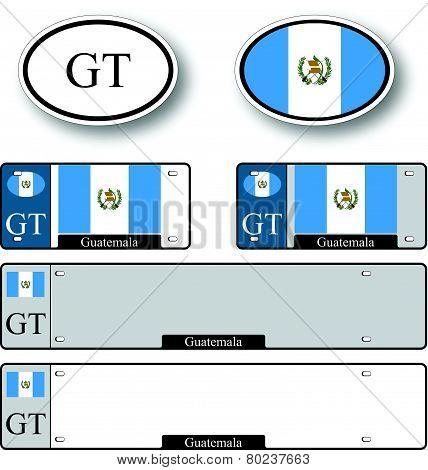 Guatemala Auto Set