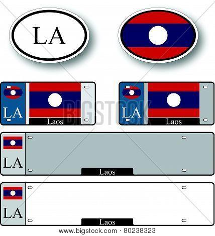 Laos Auto Set