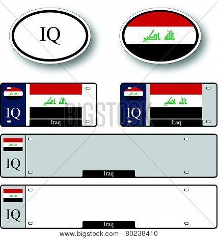 Iraq Auto Set