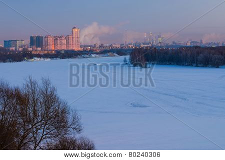 Moscow general view
