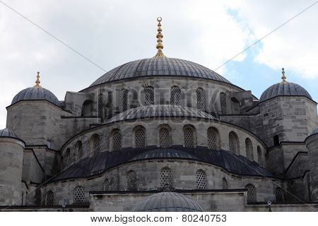 Cupola Of Blue Mosque