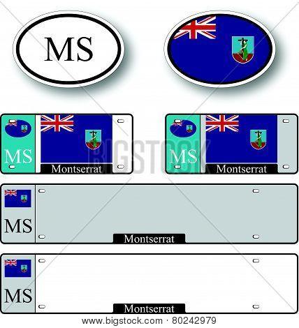 Montserrat Auto Set