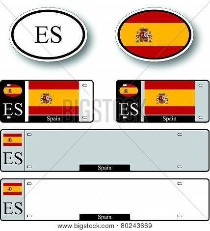 Spain Auto Set